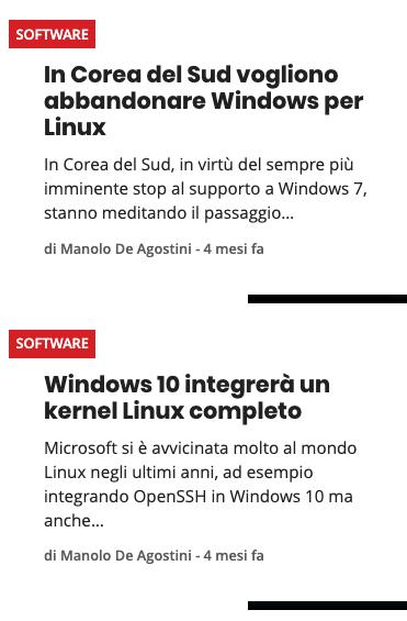 server linux articolo