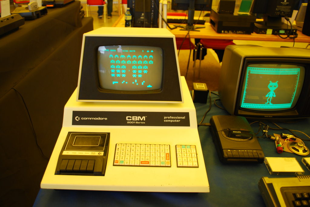 commodore space invaders
