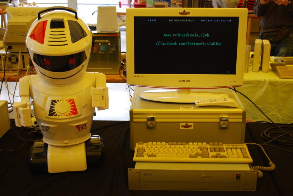 retroedicola robot