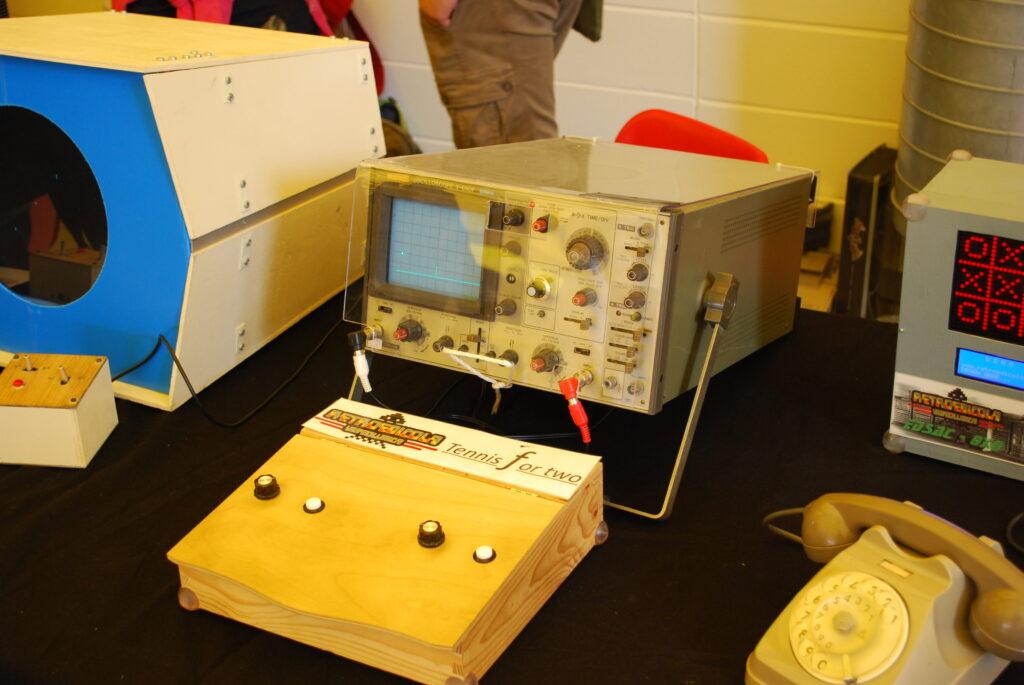 tennis oscilloscopio