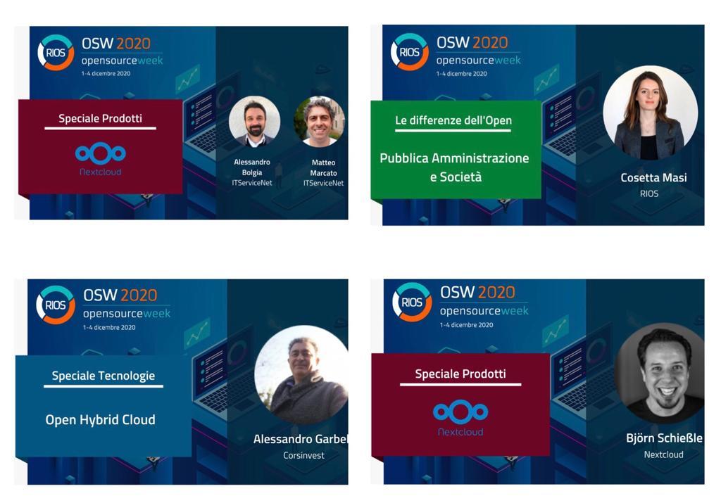 Enterprise OSS partecipa ad Open Source Week - RIOS